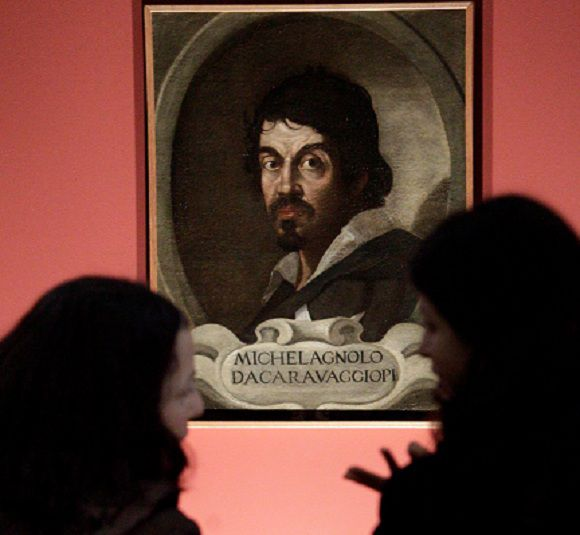 "Name: f114ddcfd3638312140f6a706700a795.jpg Caption: FILE - In this Thursday, Feb. 10, 2011 file photo visitors admire the portrait of Caravaggio by an unknown painter during the presentation to journalists of an exhibit dedicated to the Lombard painter titled: ""Caravaggio in Rome"", in Rome. Two Italian art historians are claiming, Thursday, July 5, 2012, to have identified dozens of drawings as those of a very young Caravaggio in a collection of works of a master painter he studied under in the late 1500s. There was no immediate way to verify the claim. One noted expert of 16th century art familiar with the drawings said it was likely that at most only a few were done by Caravaggio, but that in any case none show the mature hand of the artist. (AP Photo/Pier Paolo Cito, File) IPTC Date: 12:31 10/02/11 Arrival Date: 22:00 05/07/12 Notes:"