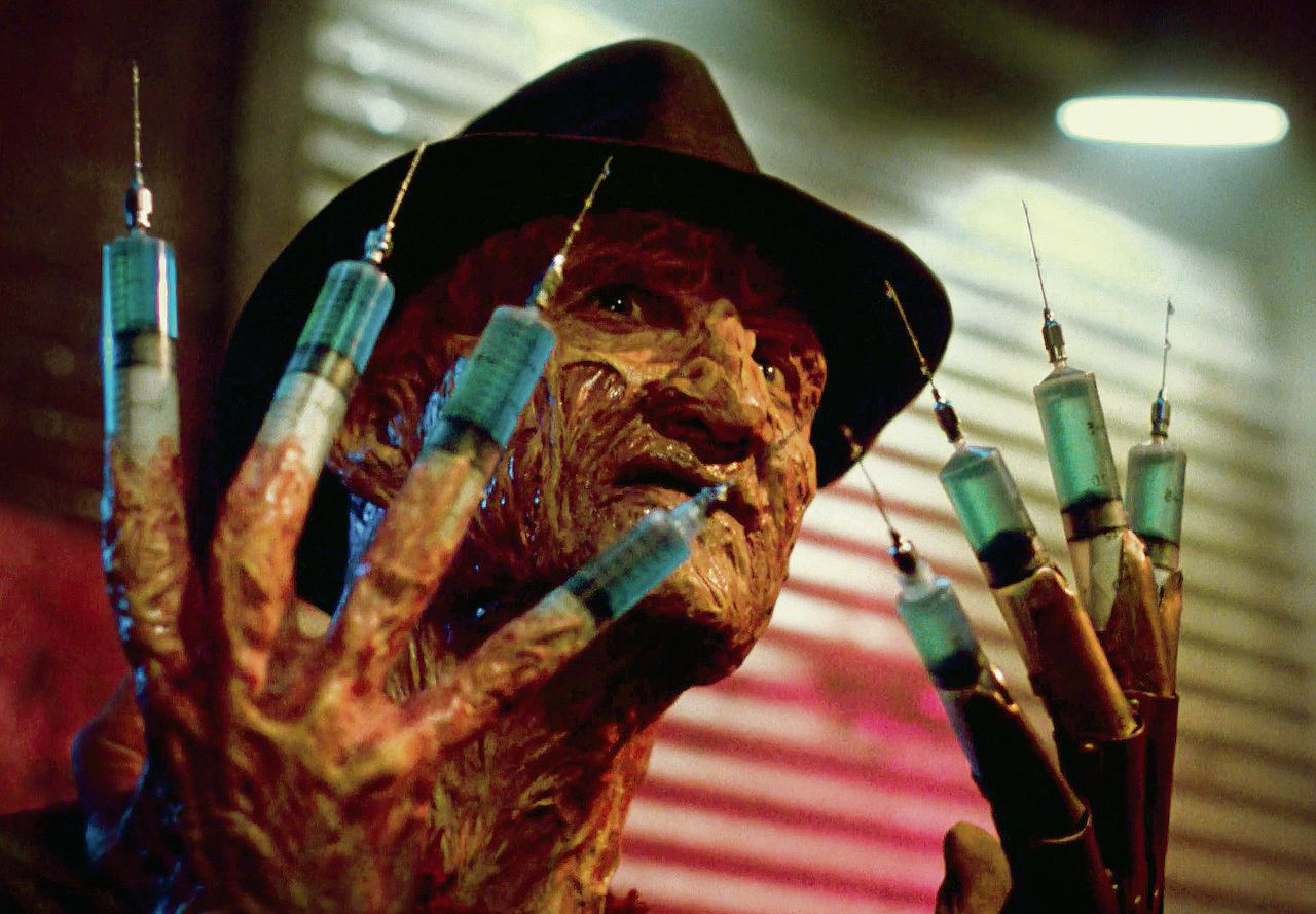 Van enge boeman tot clown: acteur Robert Englund als Freddy Krueger in de 'Nightmare on Elm Street'-reeks