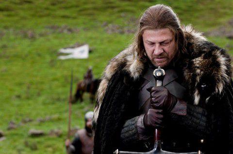 """Acteur Sean Bean speelt Lord Eddard """"Ned"""" Stark in de HBO-televisieserie van Game of Thrones."""