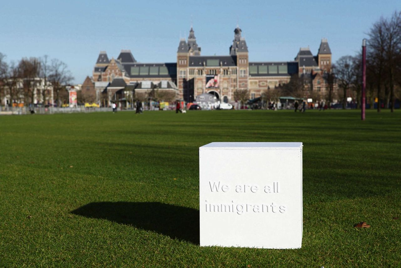 Alicia Framis: We are all immigrants, 2012, Museumplein Annet Gelink Gallery, Amsterdam