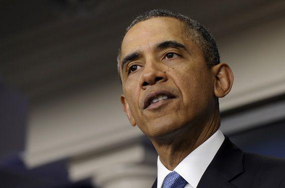 President Barack Obama zegt dat de VS niet militair gaan ingrijpen in Oekraïne.