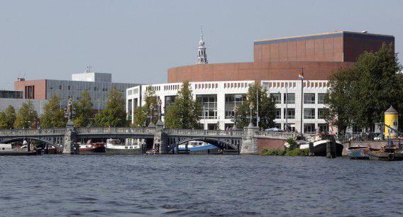De Stopera, het gemeentehuis van Amsterdam.