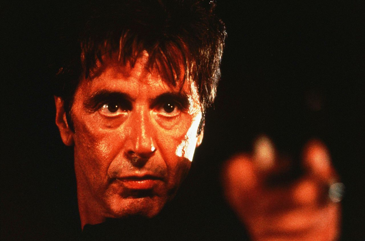 Heat (1995) Pers: Al Pacino Dir: Michael Mann Ref: HEA099BV Photo Credit: [ Monarchy/Regency / The Kobal Collection ] Editorial use only related to cinema, television and personalities. Not for cover use, advertising or fictional works without specific prior agreement