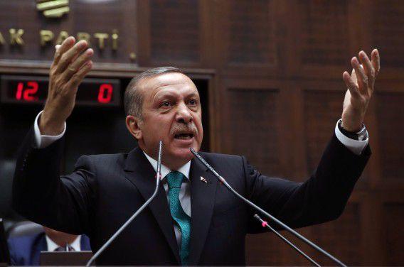 De Turkse premier Recep Tayyip Erdogan zou tot de afgeluisterde politici behoren.