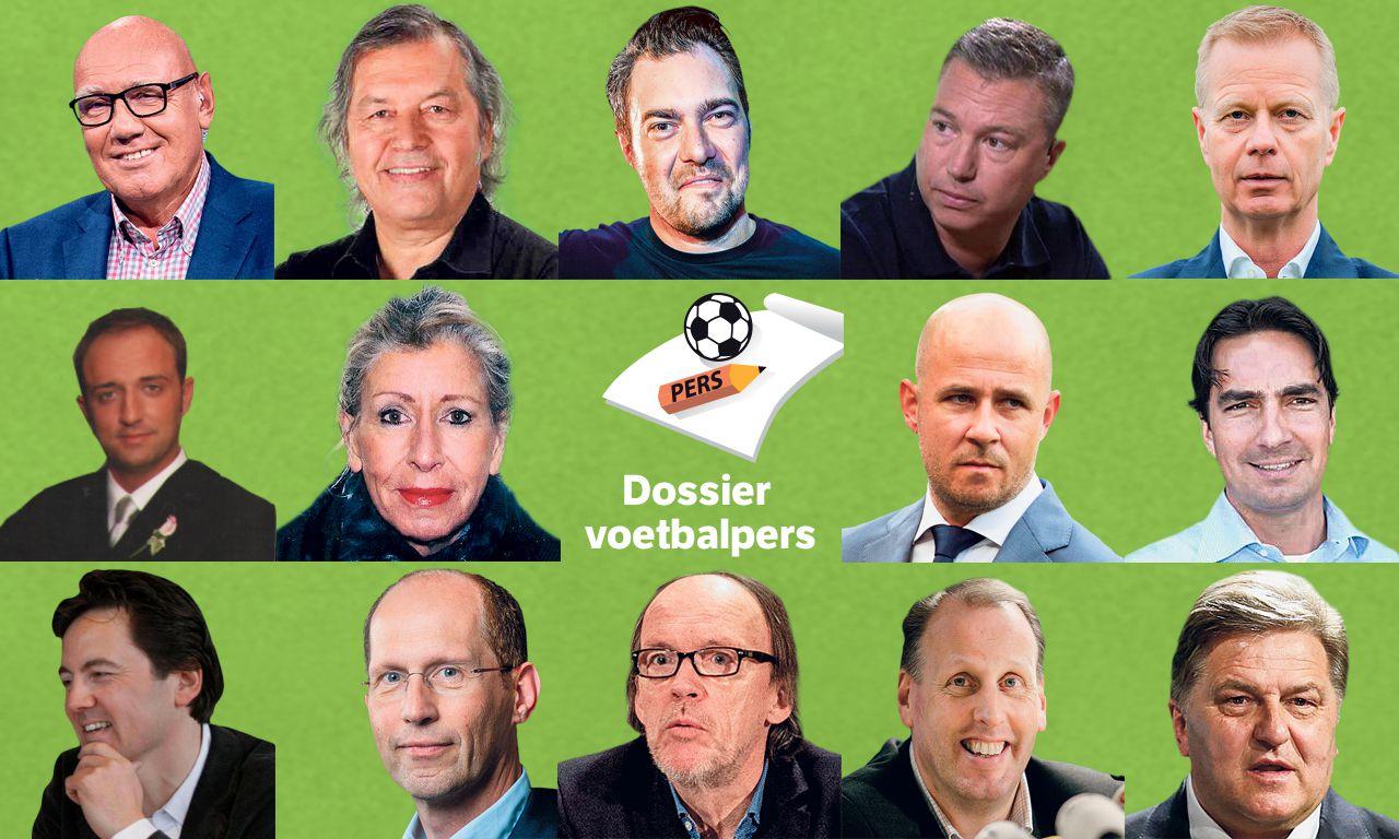 NOS-verslaggever Arno Vermeulen: Bovenste rij, eerste van rechts.