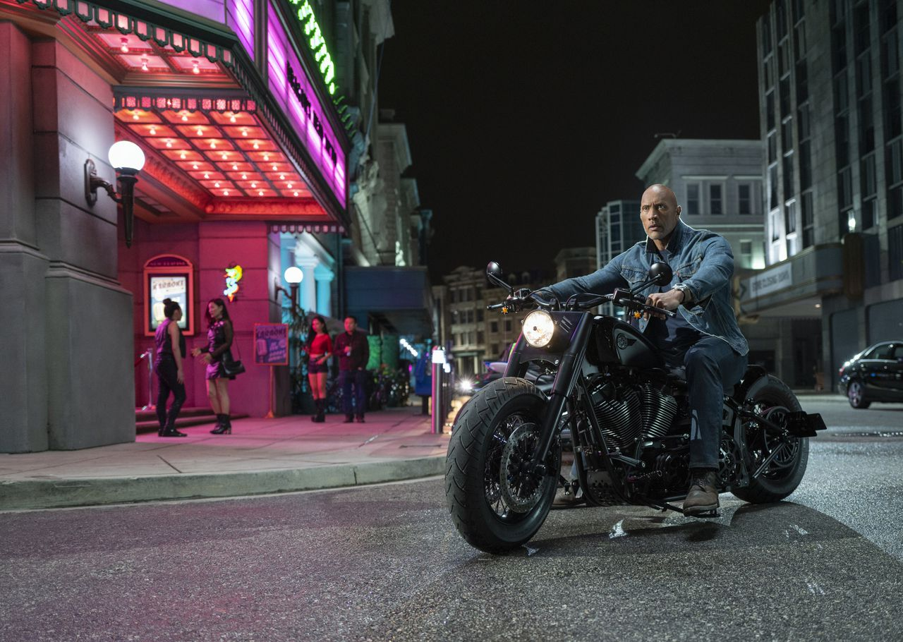 Dwayne Johnson als Luke Hobbs in Fast & Furious Presents: Hobbs & Shaw.
