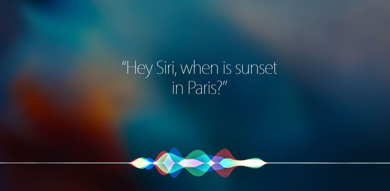 De slimme assistent van Apple.