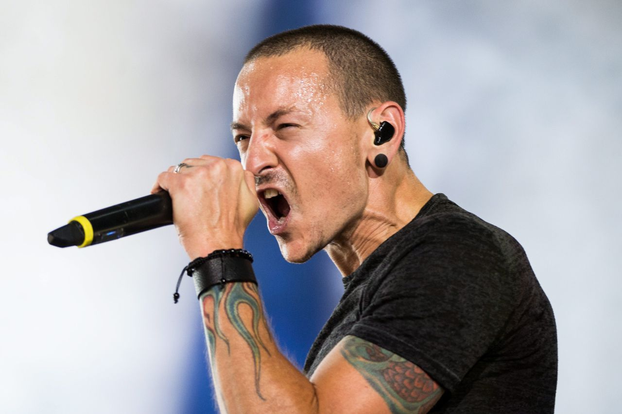 Chester Bennington in 2014.