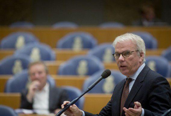 50Plus-fractievoorzitter Norbert Klein