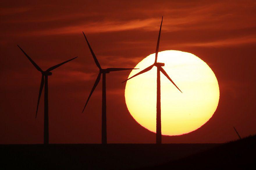 Windpark in Kansas