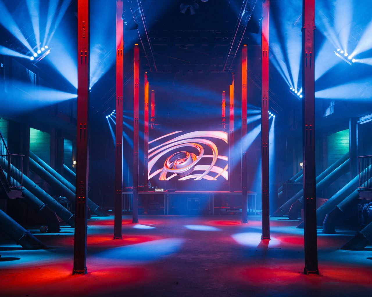 Club NOW&WOW in de Maassilo in Rotterdam