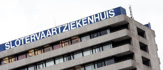 AMSTERDAM - Exterieur Slotervaart ziekenhuis. ANP KOEN VAN WEEL
