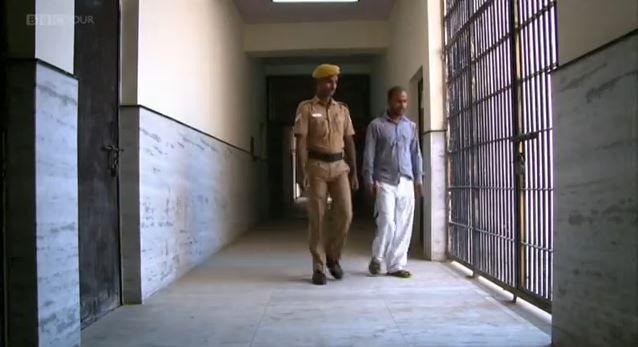 Still uit de documentaire: Mukesh Singh in de gevangenis.