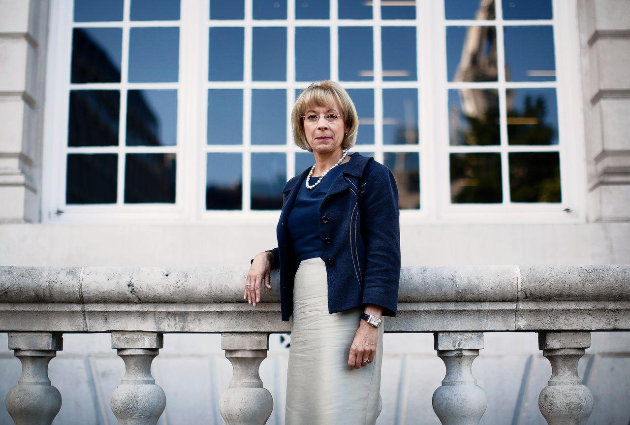 Nancy McKinstry is bestuursvoorzitter van Wolters Kluwer, het bedrijf dat gemiddeld de meeste vrouwen in de bestuurstop heeft.