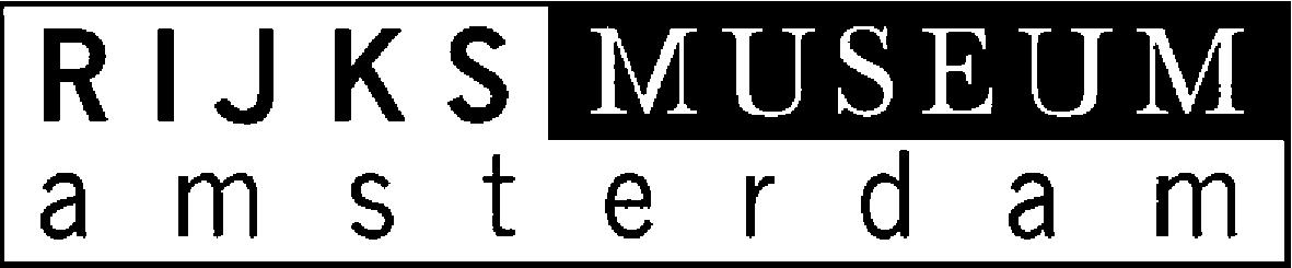 Van bovenaf: oude logo Rijksmuseum Amsterdam, nieuw logo ontworpen door Irma Boom en pen met nieuw logo.