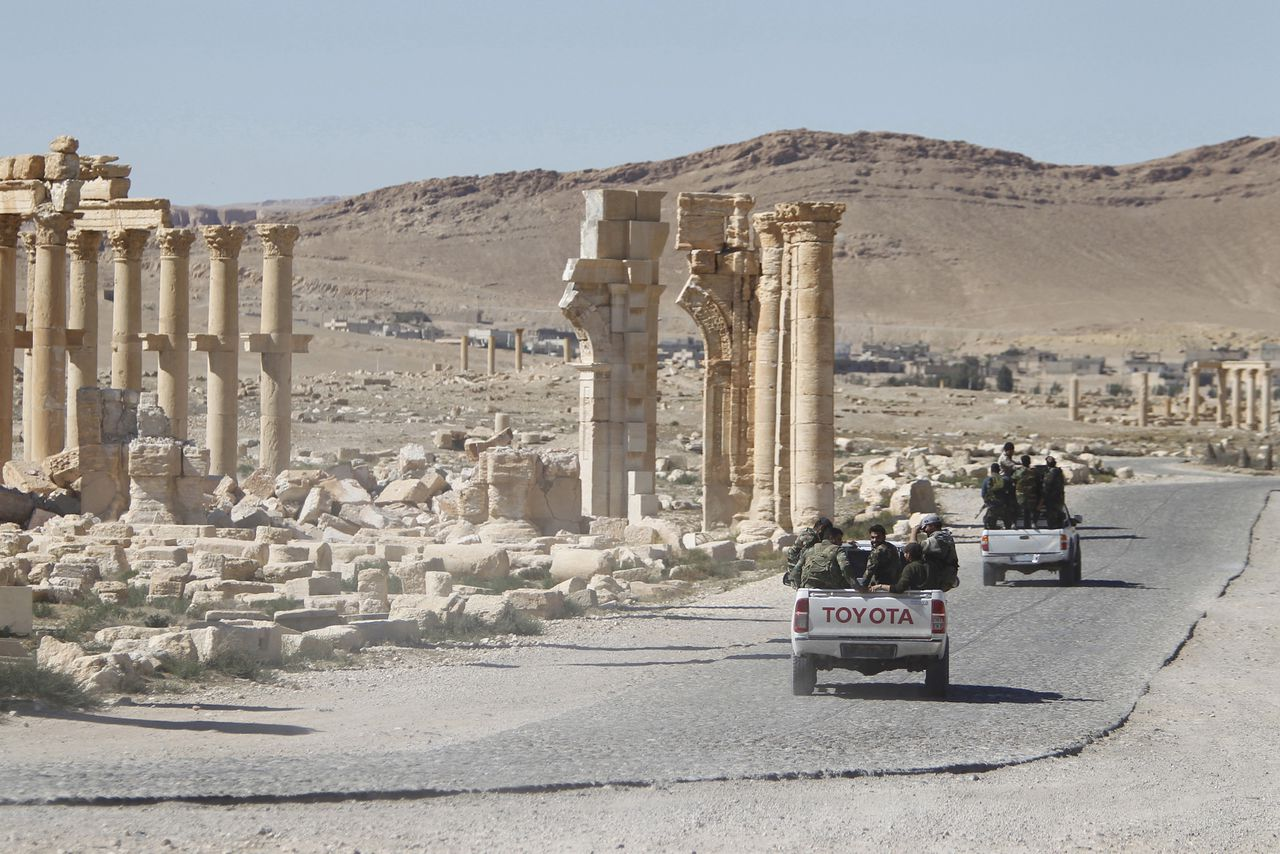 Palmyra in april 2016.
