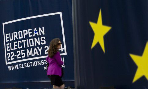 Gebouw van het Europees Parlement in Brussel.