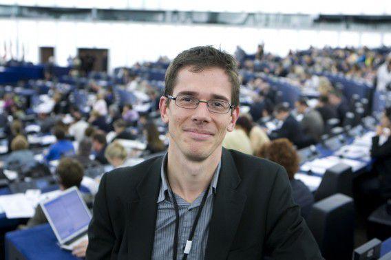 Bas Eickhout is op het congres formeel benoemd tot lijsttrekker bij de Europese verkiezingen.