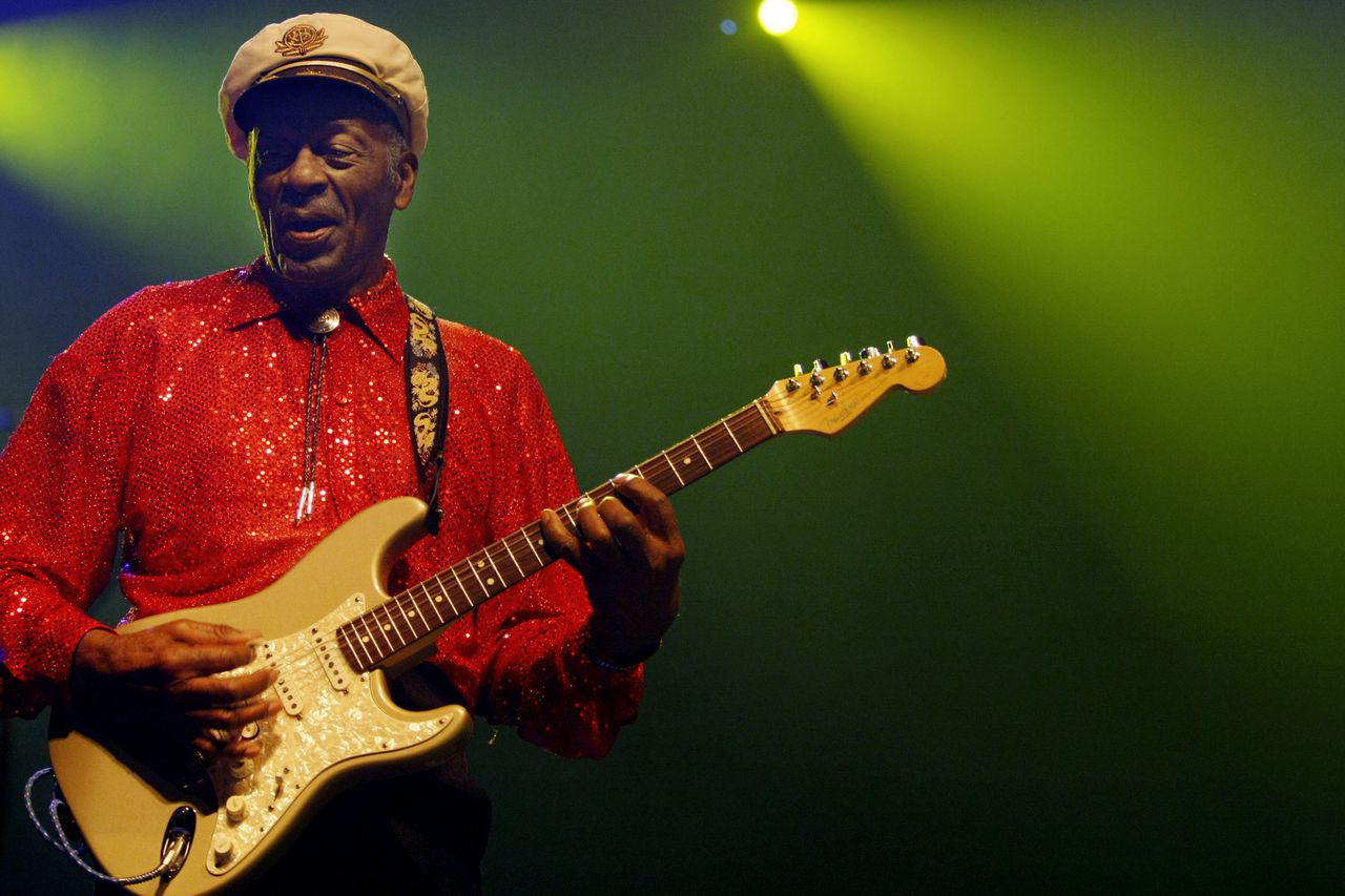 Chuck Berry (89), the King of Rock.