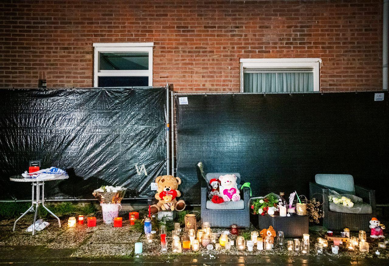 Na de moord werd in Arnhem een stille tocht gehouden voor het 12-jarige slachtoffer.