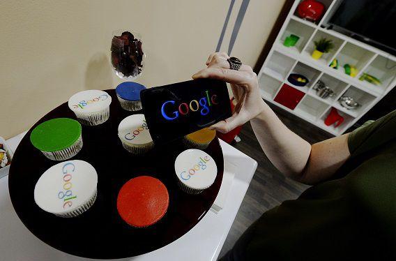 Google presentatie van LG Nexus 5 telefoon