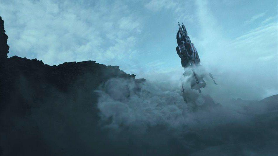 Ruimteschip Rocinante landt op Ilus.