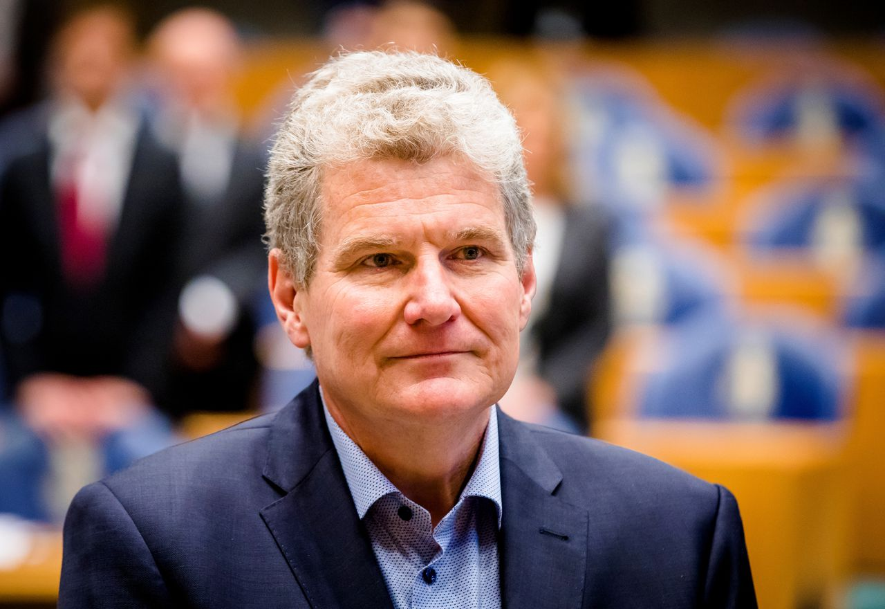 William Moorlag in de Tweede Kamer.