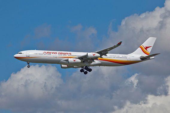 De enige Airbus A340-300 van de Surinaamse Luchtvaartmaatschappij kan volgende week niet zijn normale route vliegen.