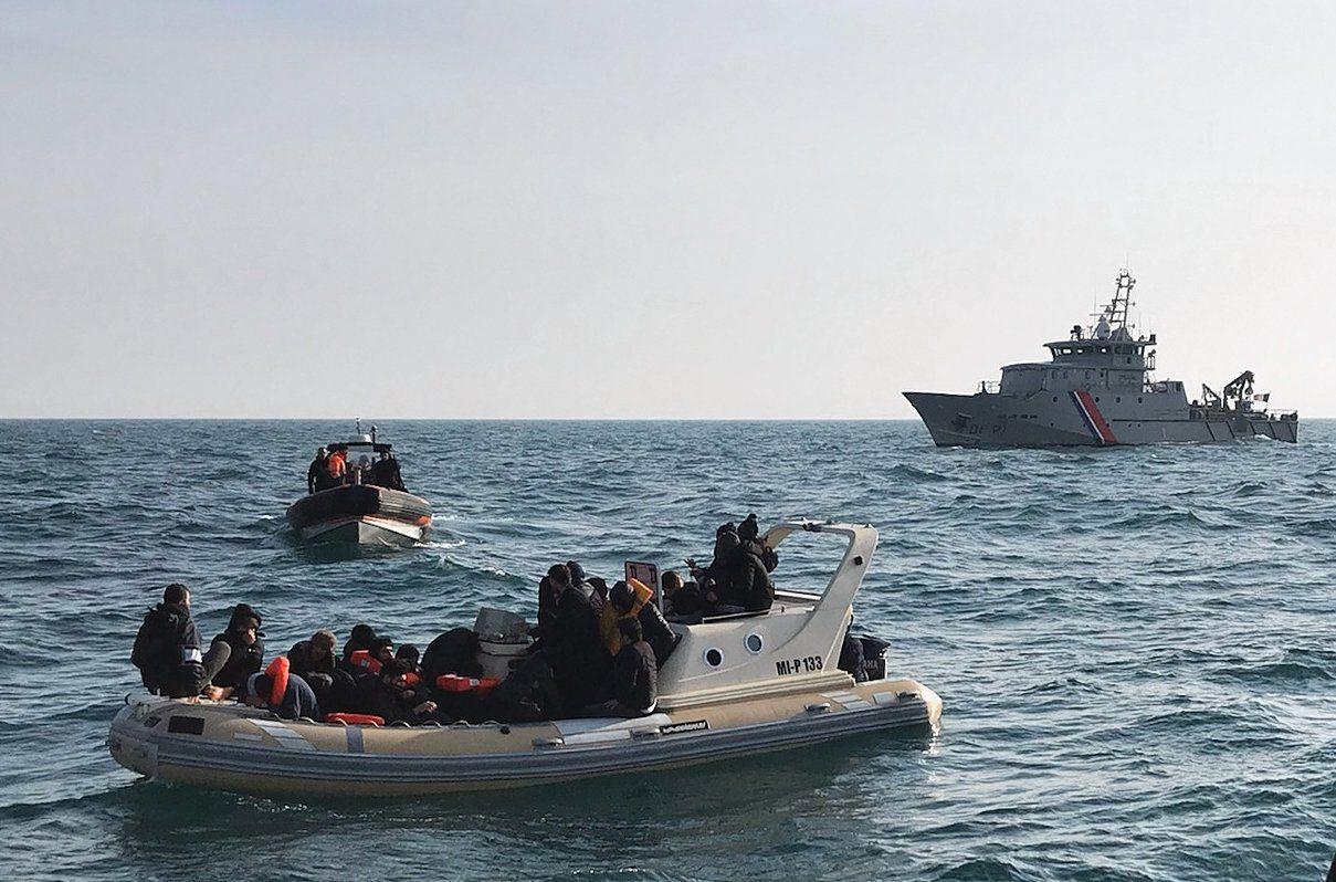 Tot eind augustus werden dit jaar al meer dan 1.400 migranten op het Kanaal aangehouden.