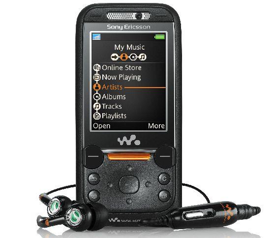 De nieuwe Walkman-telefoon van Sony Ericsson.