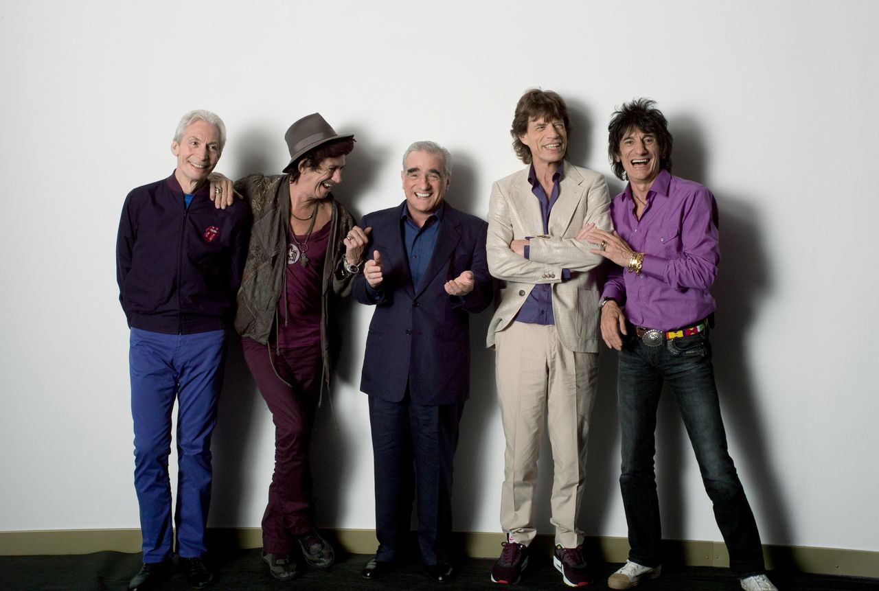 scene uit de documentaire Shine a Light (2008) FOTO: RCV Rolling Stones Martin Scorsese