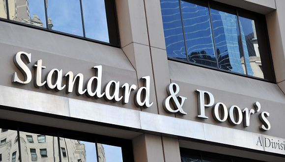Caption: Standard & Poor's headquarters in the financial district of New York on August 6, 2011. The United States' credit rating was cut for the first time ever August 5 when Standard and Poor's lowered it from triple-A to AA+, citing the country's looming deficit burden and weak policy-making process. AFP PHOTO/Stan HONDA