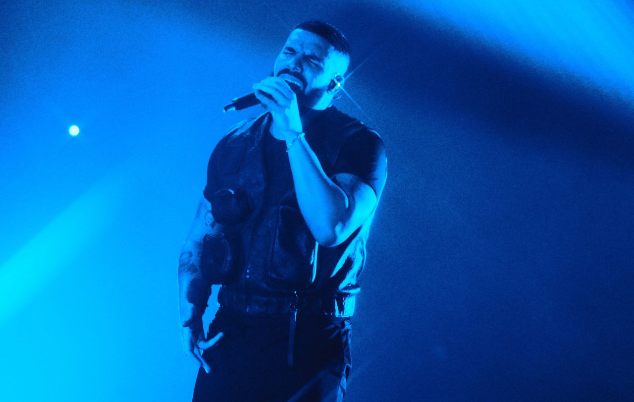 Drake in de Ziggo Dome in Amsterdam.
