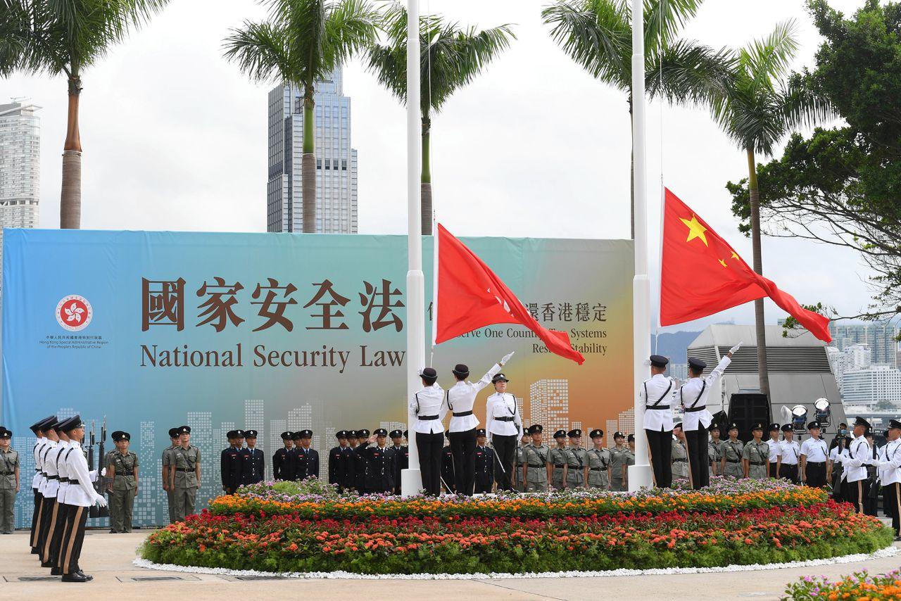 Hongkong werd in 1997 overgedragen aan China door het Verenigd Koninkrijk. Het verkreeg een speciale status.
