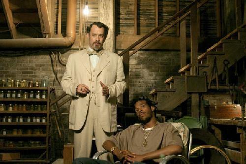 Twee bedriegers scene uit de film The Lady Killers