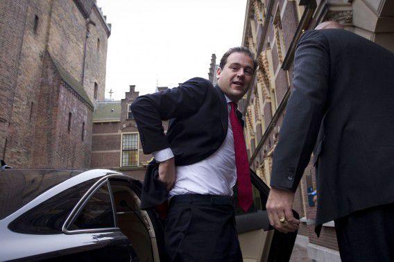 """Asscher zegt dat zijn hand """"niet direct aanwijsbaar"""" is in het regeerakkoord. Foto ANP / Evert-Jan Daniels"""