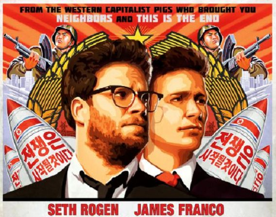 Foto: Poster The Interview / Sony Pictures Entertainment