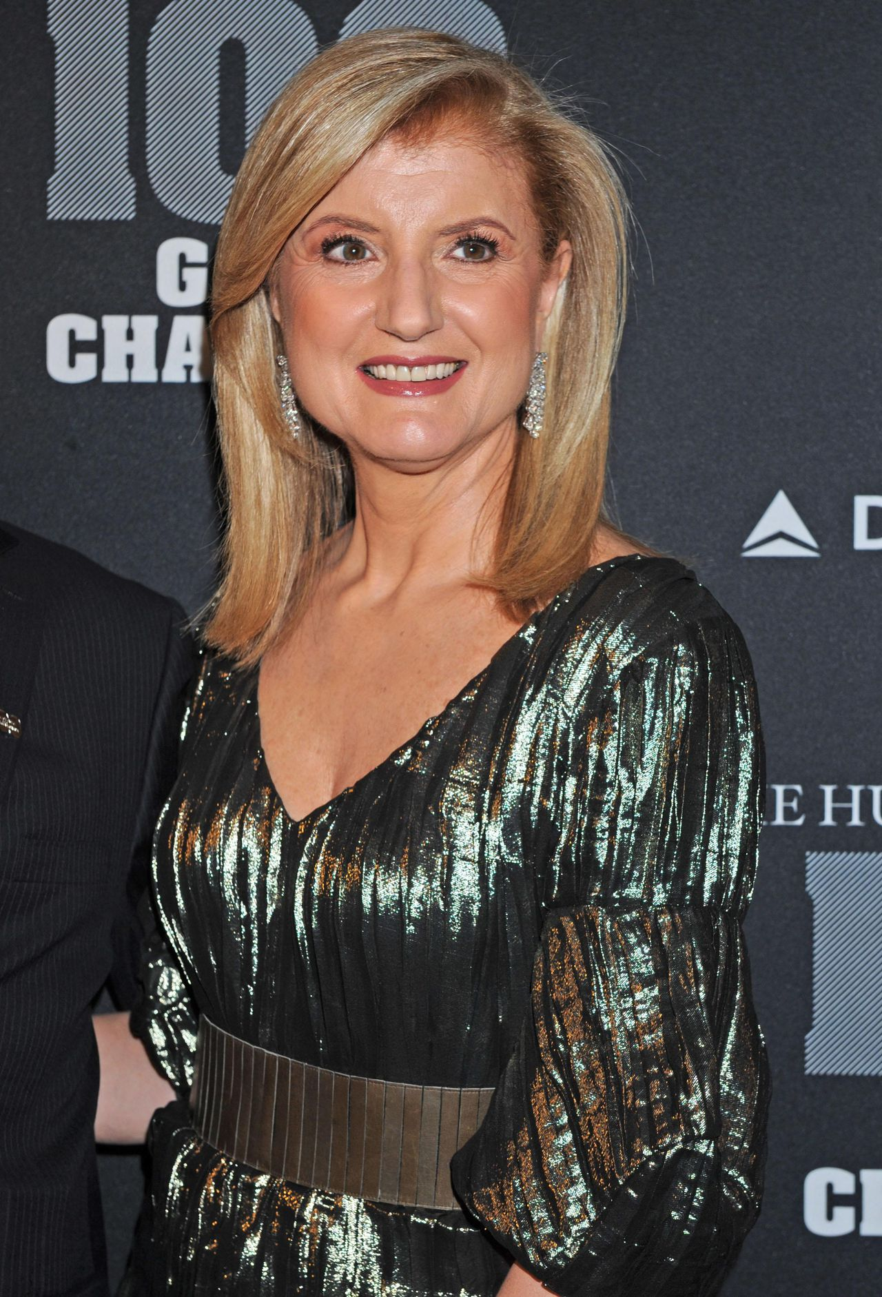 """Ariana Huffington arrives at the """"Huffington Post 2010 Game Changers Event,"""" Thursday, Oct. 28, 2010, in New York. (AP Photo/Louis Lanzano)"""