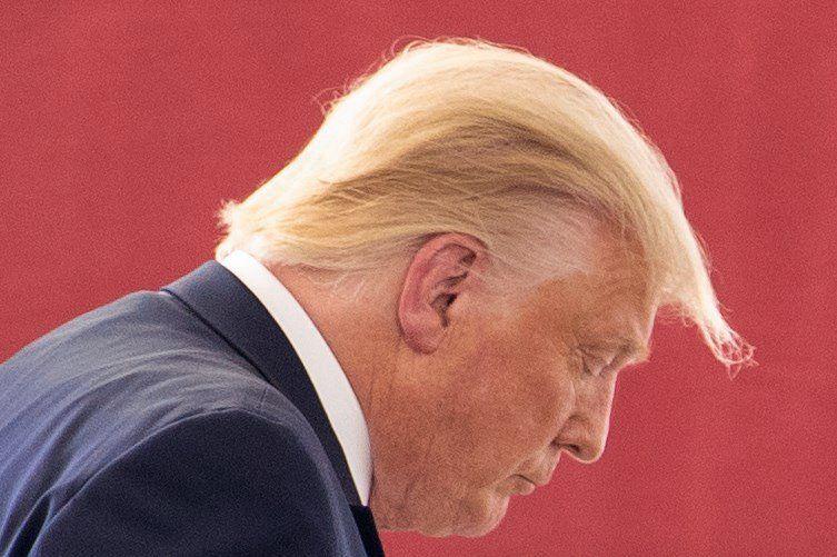 President Donald Trump afgelopen woensdag tijdens een bezoek aan Texas.