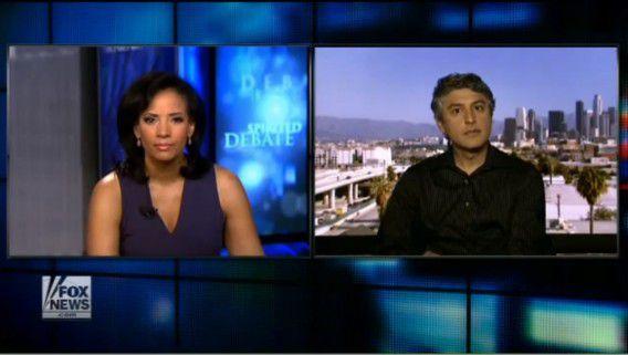 Reza Aslan in gesprek met Fox News-presentator Lauren Green