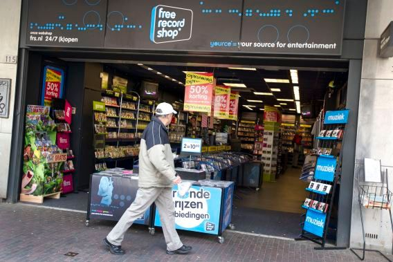 Een Nederlands filiaal van Free Record Shop.