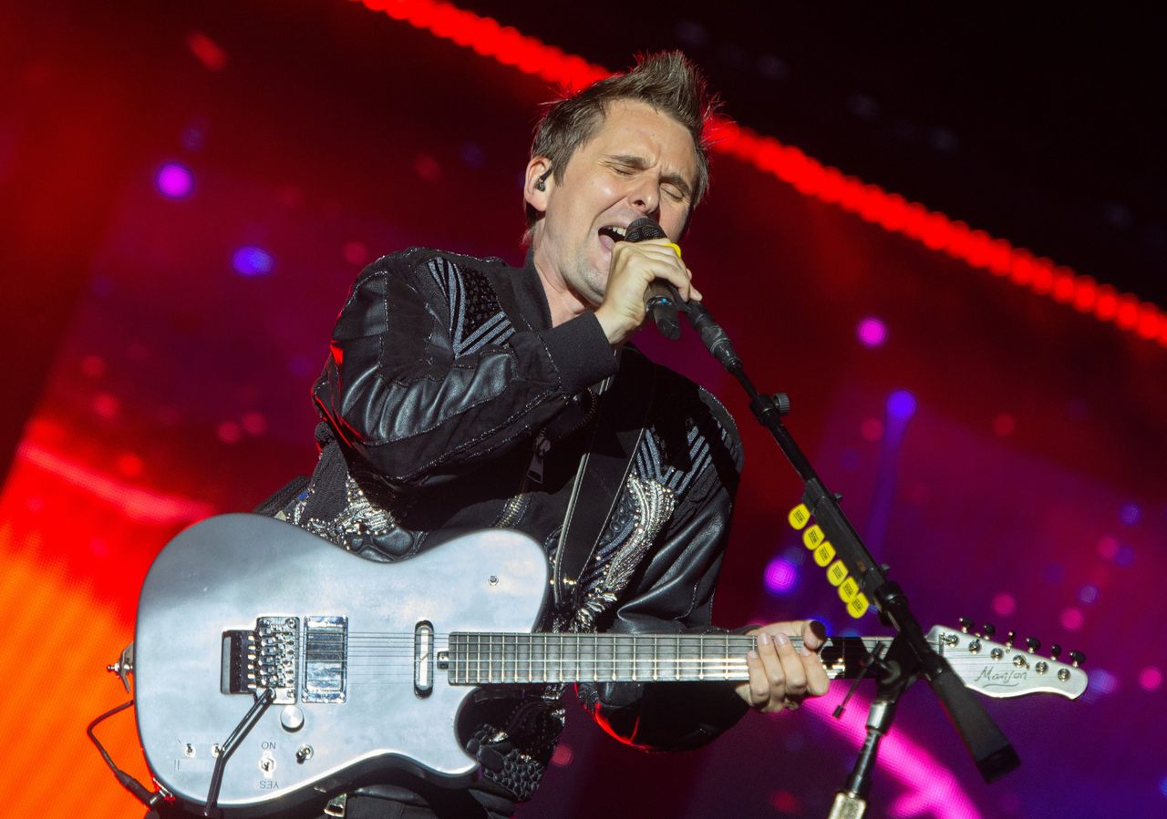 Zanger Matt Bellamy van rockband Muse doet mee op 'Game of Thrones'-album 'For The Throne'