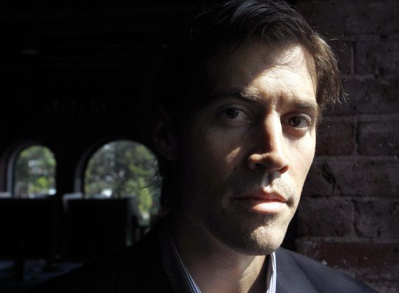 De Amerikaanse journalist James Foley in 2011.