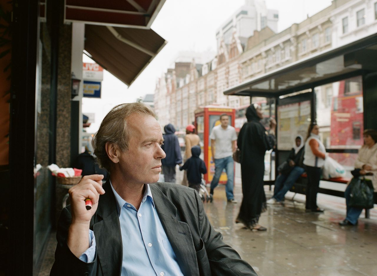 This is an undated handout photo, released to the media on Wednesday, Jan. 23, 2008, of Martin Amis, author of ''The Second Plane''. When it comes to world affairs, most contemporary British authors suffer from a bad case of group thinking these days. Less predictable is Amis who spurns the warm-slippered conventions of the U.K. literati. Source: Random House via Bloomberg News
