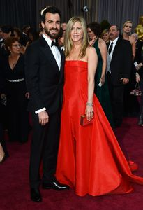 Justin Theroux en vriendin Jennifer Aniston.