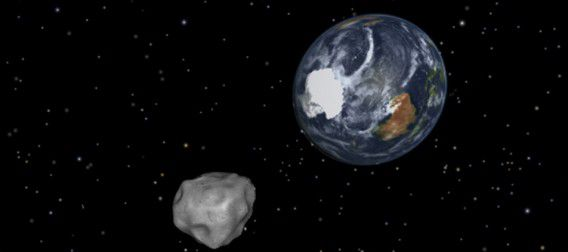 "This NASA graphic obtained February 8, 2013 depicts the Earth flyby of asteroid 2012DA14. NASA is closely tracking an asteroid large enough to destroy a city that is set to whiz past Earth on February 15, 2013 in what the US space agency says is the closest flyby ever predicted for such a large object. The 150-feet (45-meter) wide asteroid -- dubbed 2012 DA 14 -- is expected to pass about 17,200 miles (27,000 kilometers) above the Earth at the time of closest approach, about 2:25 pm EST (1925 GMT), NASA said. = RESTRICTED TO EDITORIAL USE - MANDATORY CREDIT "" AFP PHOTO / NASA/JPL-Caltech/"" - NO MARKETING NO ADVERTISING CAMPAIGNS - DISTRIBUTED AS A SERVICE TO CLIENTS ="