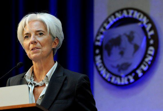 IMF-chef Christine Lagarde.