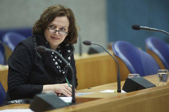 Minister Schippers zegt trots en blij te zijn met het zorgakkoord.