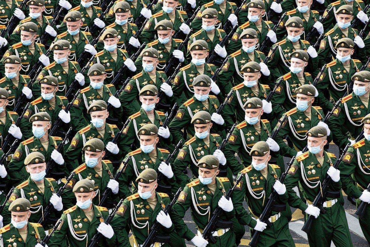 Op zaterdag 20 juni werden in Moskou de generale repetities gehouden voor de militaire paradeop woensdag 24 juni.