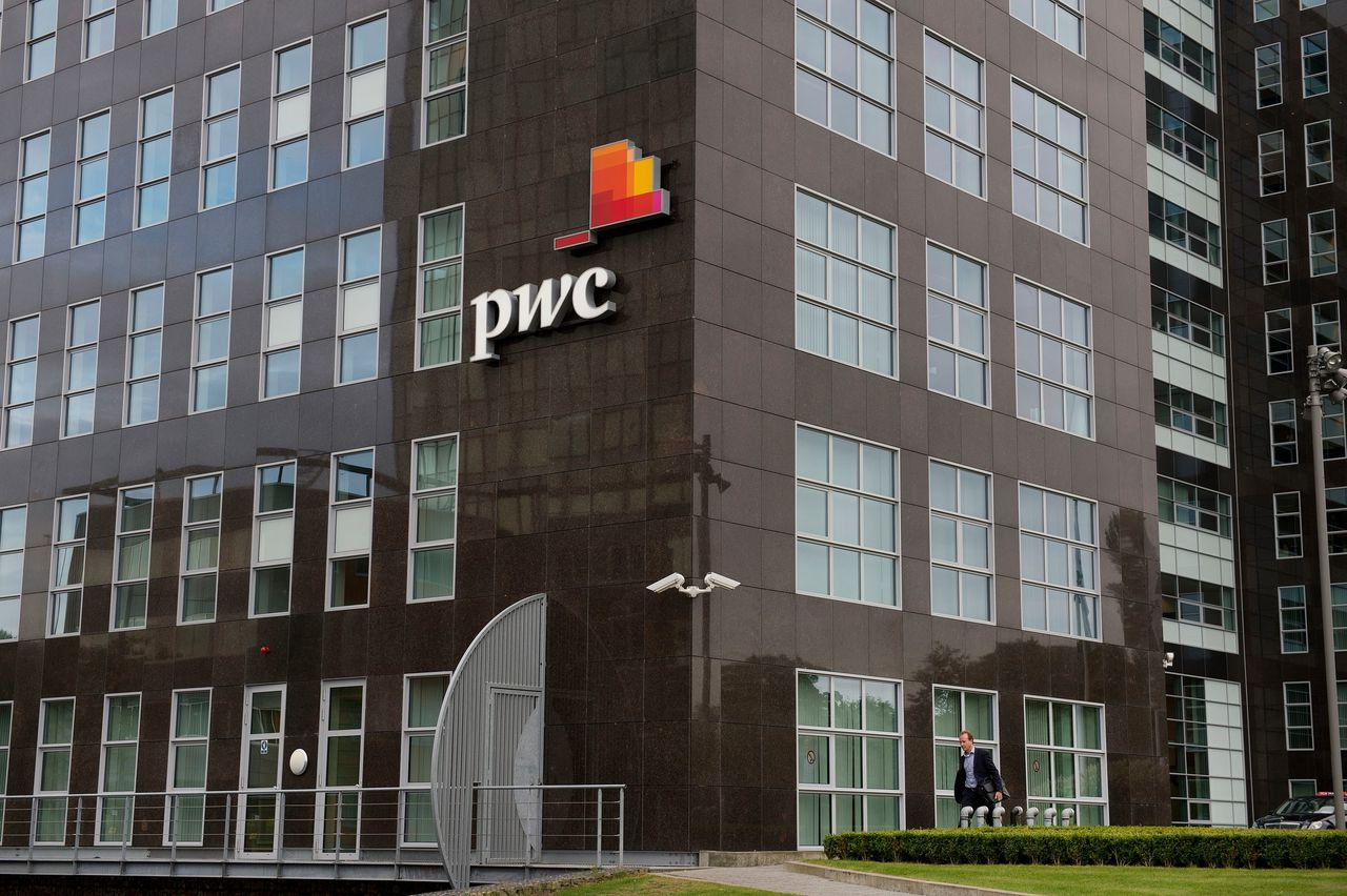 Accountantskantoor PWC in Amsterdam.